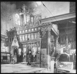Glasplattendia Bethlehem Geburtskirche