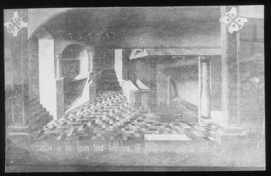Glasplattendia Gueburtsgrotte nach Scorell 1519 [Bethlehem]