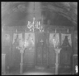 Glasplattendia Hirtengrotte [Bethlehem, Umgebung]