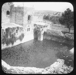 Glasplattendia The ancient upper Pool of Hebron