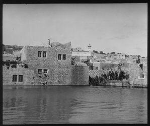 Glasplattendia Teich in Hebron