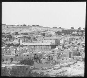 Glasplattendia Grab Abrahms Hebron - Haram-esh-Chreiff