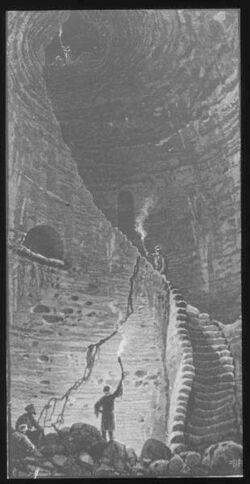 Glasplattendia Höhle bei Bet Dschibrin