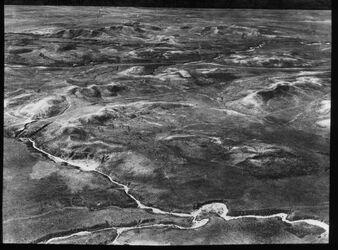 Glasplattendia Gelände am Wadi Nördlich Hutsch
