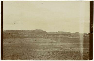 Fotografie Gebirge nördl. v. heleran w. hof [wadi hof] [?]