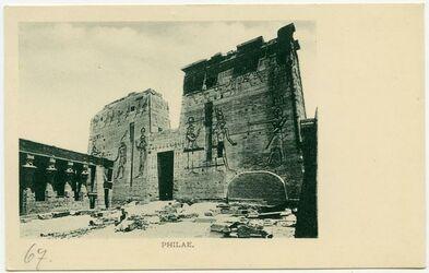 Postkarte Philae.