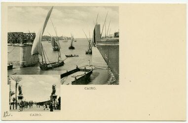 Postkarte Cairo.