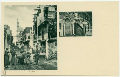 Postkarte Cairo