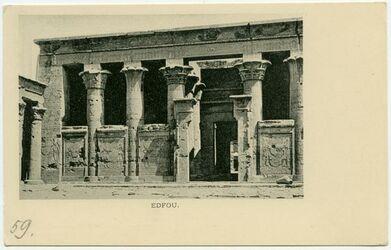 Postkarte Edfou