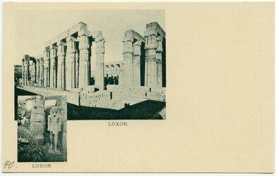 Postkarte Luxor