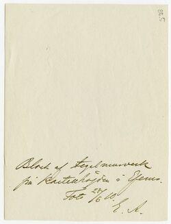 GDIp03093; Fotografie; [Ephesus], in Bestand von rund 5.000 nach Themen und Orten sortierten Kleinbildabzügen