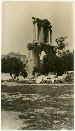 Fotografie Athen. Hadriansbogen