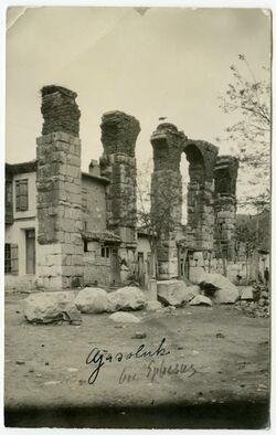 Postkarte Ajasoluk bei Ephesus