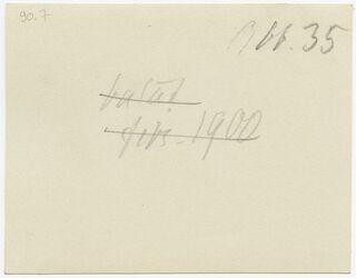 GDIp03110; Fotografie; [wohl Balat], in Bestand von rund 5.000 nach Themen und Orten sortierten Kleinbildabzügen