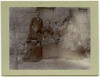 Fotografie Familie v. Faris Subhijje in Balat [...]