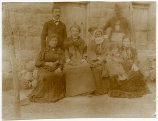 Fotografie [Familie von Faris Subhije in Balat]