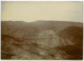 Fotografie wadi el-hesi, Blick n. S.
