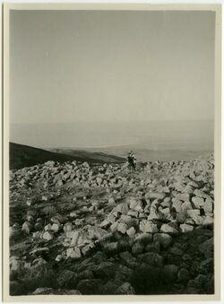 Fotografie Totes Meer n. Westen vom NEbo