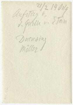 GDIp03225; Fotografie; Ausstieg v. d. Quelle v. Etam [Etham], in Bestand von rund 5.000 nach Themen und Orten sortierten Kleinbildabzügen