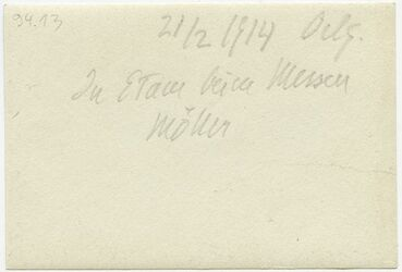 GDIp03226; Fotografie; In Etam [Etham] beim Messen, Möller, in Bestand von rund 5.000 nach Themen und Orten sortierten Kleinbildabzügen