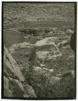 Fotografie unterster Teich v. oben (SW) [Salomonsteiche, bei Bethlehem]