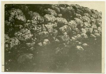 Fotografie Untere Böschungsmauer von Gaba (ed-dschabie)