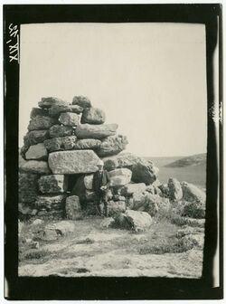 GDIp03266; Fotografie; Turm bei irbid, in Bestand von rund 5.000 nach Themen und Orten sortierten Kleinbildabzügen