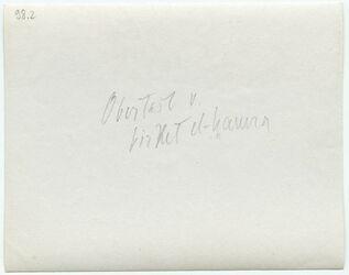 GDIp03303; Fotografie; Oberteil v. birket el-hamra, in Bestand von rund 5.000 nach Themen und Orten sortierten Kleinbildabzügen