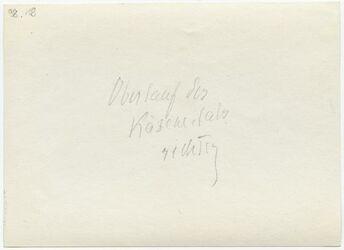 GDIp03319; Fotografie; Oberlauf des Käsemachertals rechts, in Bestand von rund 5.000 nach Themen und Orten sortierten Kleinbildabzügen