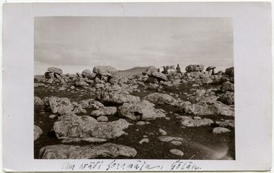 Postkarte Am wadi goramija, Golan.