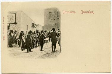 Postkarte Jerusalem
