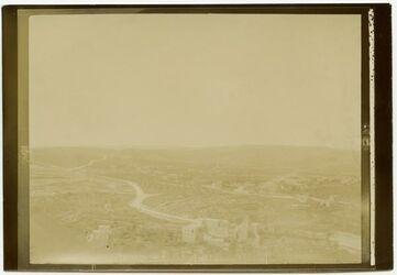 GDIp03437; Fotografie; v. Dormition IV a Blick n. S. [Jerusalem], in Bestand von rund 5.000 nach Themen und Orten sortierten Kleinbildabzügen