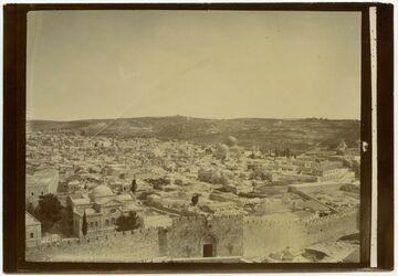Jerusalem v. Dormito aus [Palästina]