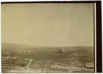 Fotografie Deutsche Kolonie u. Motefiorekolonie b. Jerusalem