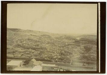 Fotografie Aussicht v. Dormition nach O (silwan) [Silwan, Jerusalem]