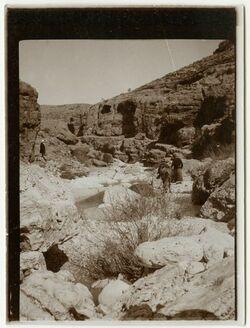 Fotografie elfauwar [el-fauwar], oberhalb der Quelle