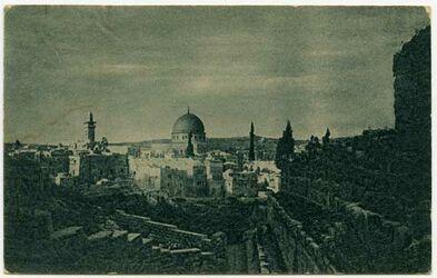 Postkarte [Jerusalem, Felsendom]