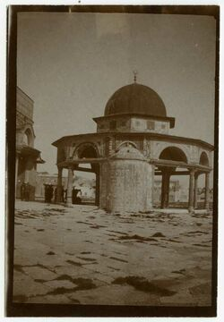 Fotografie Kettendom v. S. [Jerusalem]