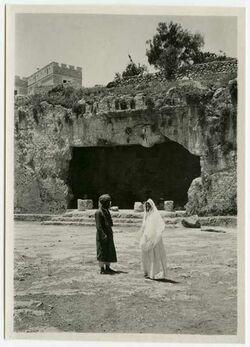 Fotografie [Felsengrab, Jerusalem]