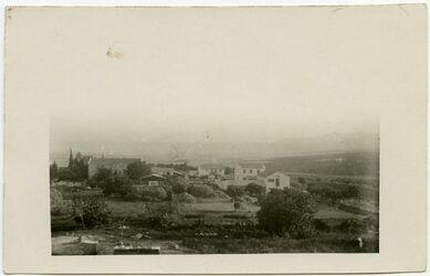 Postkarte [wohl Waldheim, Haifa]