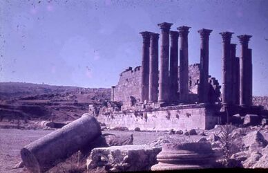 Dia Dscherasch [Gerasa] Artemis-Tempel