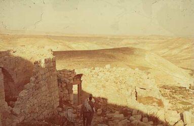Dia Shobak N.-Seite [Blick nach] Araba