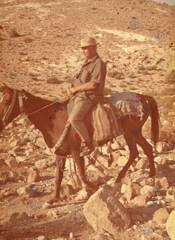 Dia Kob [Konrad Kob] zu Pferde
