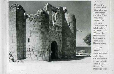 Dia Aqaba Burg nach Harding
