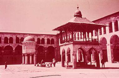 Dia Damaskus Omaj.-Moschee Hof