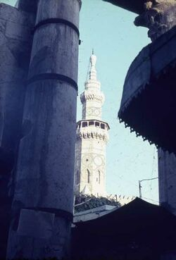 Dia Damaskus Omajaden-Moschee