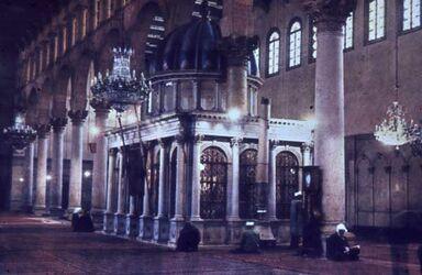 Dia Damaskus Om.-Moschee Grab Joh. d. Täufers