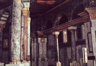 Dia Damaskus Omaj.-Moschee Inneres