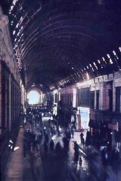 Dia Damaskus Bazar-Straße