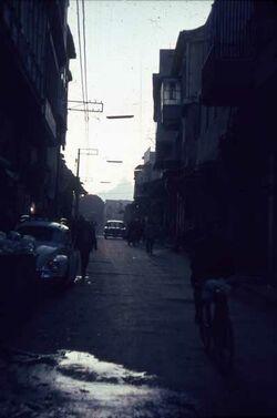 Dia Damaskus Gerade Straße